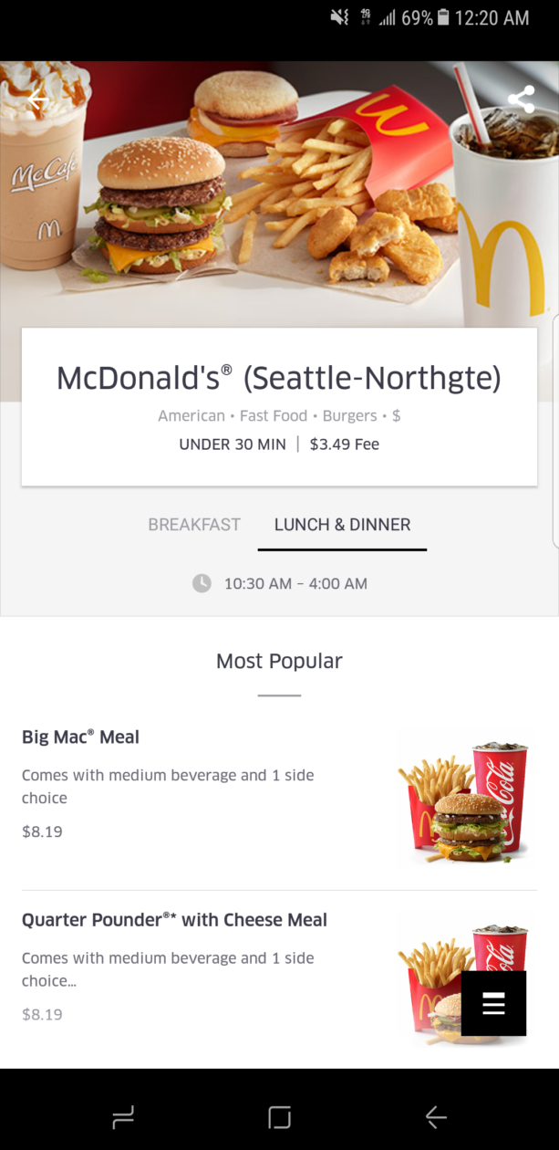 how to order with ubereats