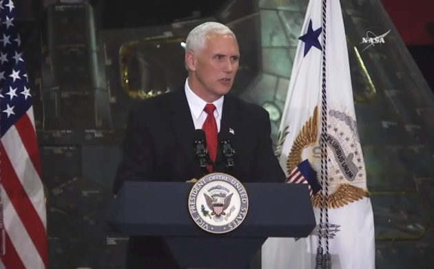 Vice President Mike Pence at KSC