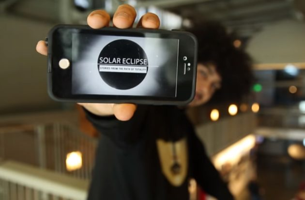 Total Solar Eclipse app