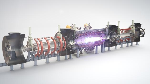 Tri Alpha Energy fusion reactor