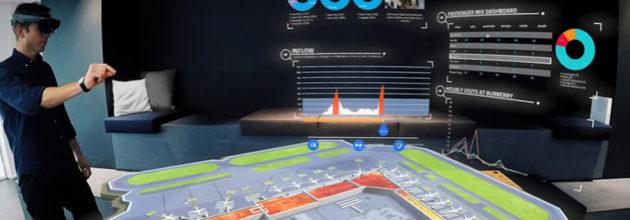 HoloLens at Helsinki Airport