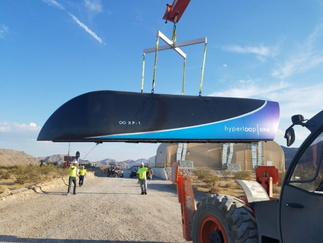 Hyperloop One Pod
