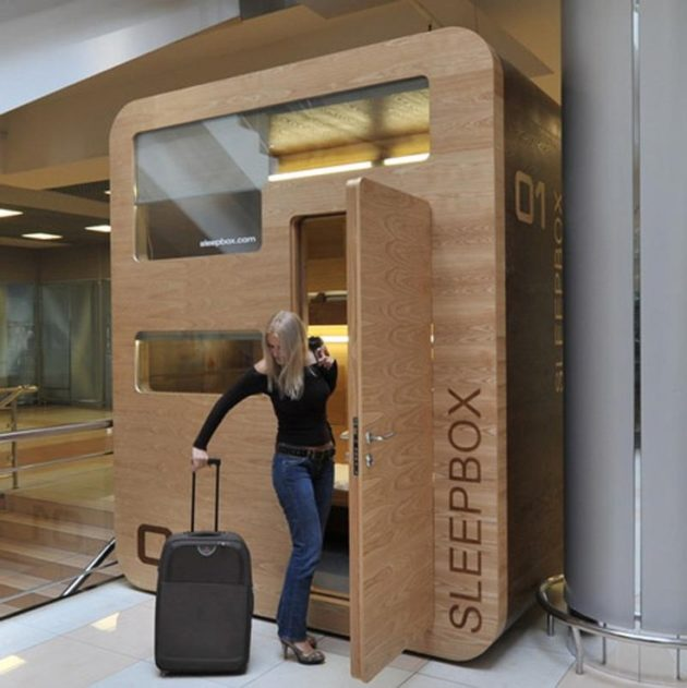 Alitheon and sleepbox make a splash in airport shark tank for Google sleep pod price