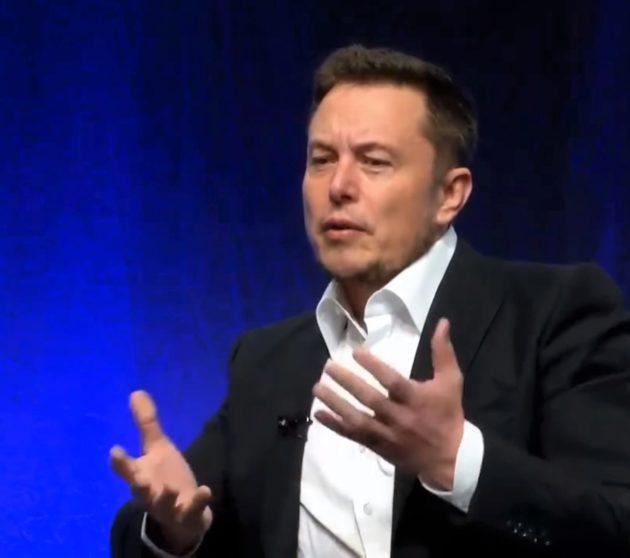 Elon Musk at NGA meeting
