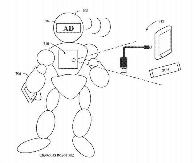 Amazon Patents Robot Thatll Come At Your Call And Charge Your