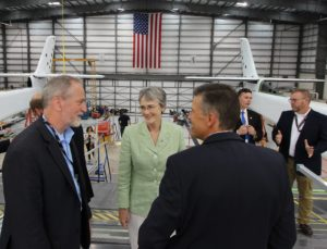 Heather Wilson at Stratolaunch