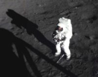 Neil Armstrong on moon