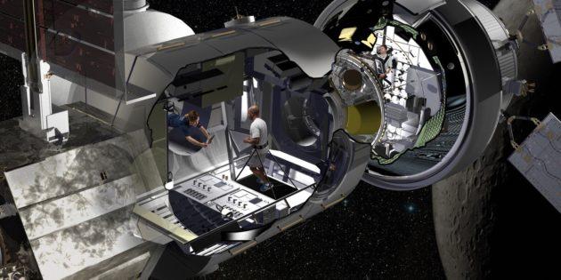 Lockheed Martin NextSTEP habitat