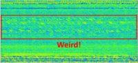 Weird Signal at Arecibo