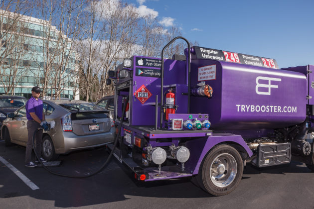 gas station delivery gas delivery startup booster fuels raises 20m reveals 300 large
