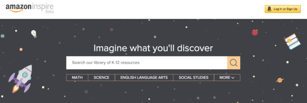 Amazon Inspire educational site opens to all schools, applying lessons learned in year-long beta