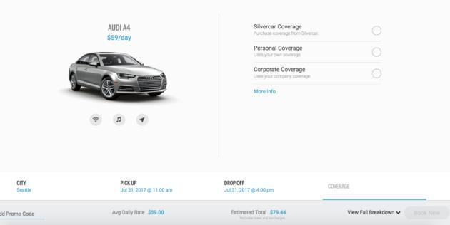 Testing Silvercar Audi Owned Rental Car Company Offers Sleek