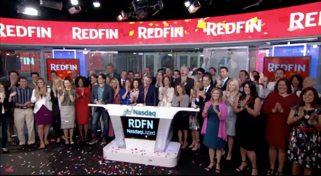 In Seattle's first IPO of the year, Redfin stock quickly takes off