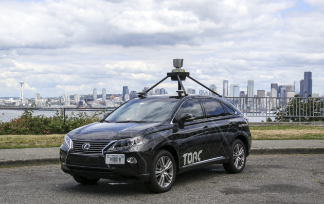 Self-driving car arrives in Seattle after 2,500-mile autonomous cross-country trip