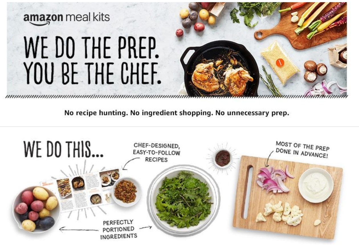 We made dinner at home with amazon meal kits the tech giants new given that my order exceeded 40 amazon axed the 999 fresh delivery charge i also received 5 off my next meal kit purchase forumfinder Choice Image