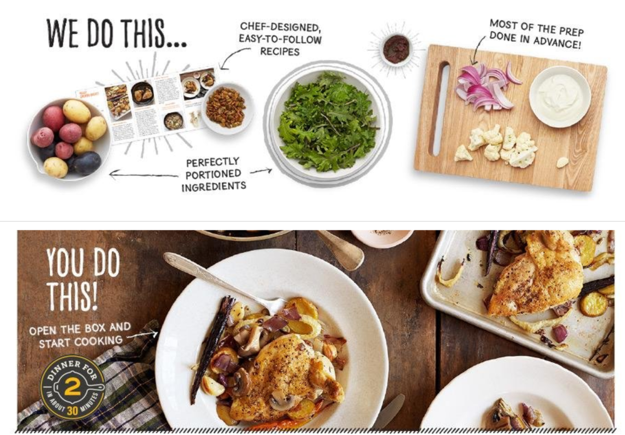 We made dinner at home with Amazon Meal Kits, the tech