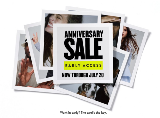 Nordstrom website issues frustrate shoppers looking for early access to anniversary sale