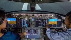 777X cockpit