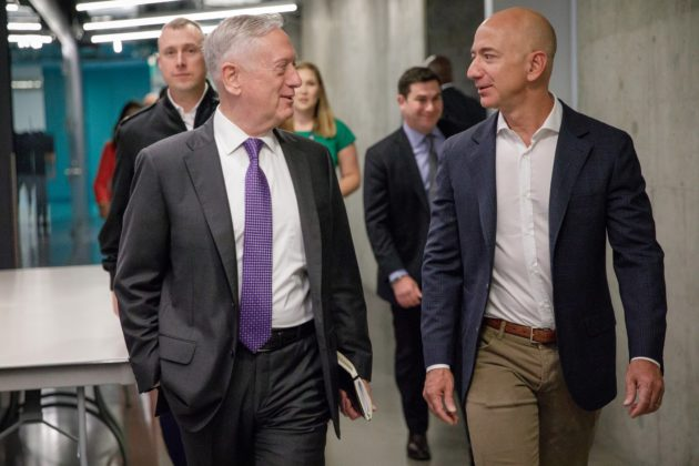 James Mattis and Jeff Bezos