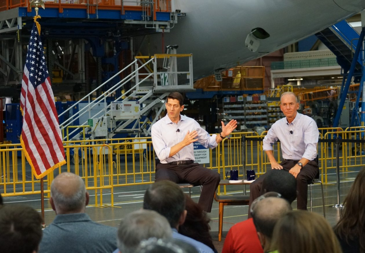 Boeing Ceo Dennis Muilenburg Unveils 300m In Initiatives