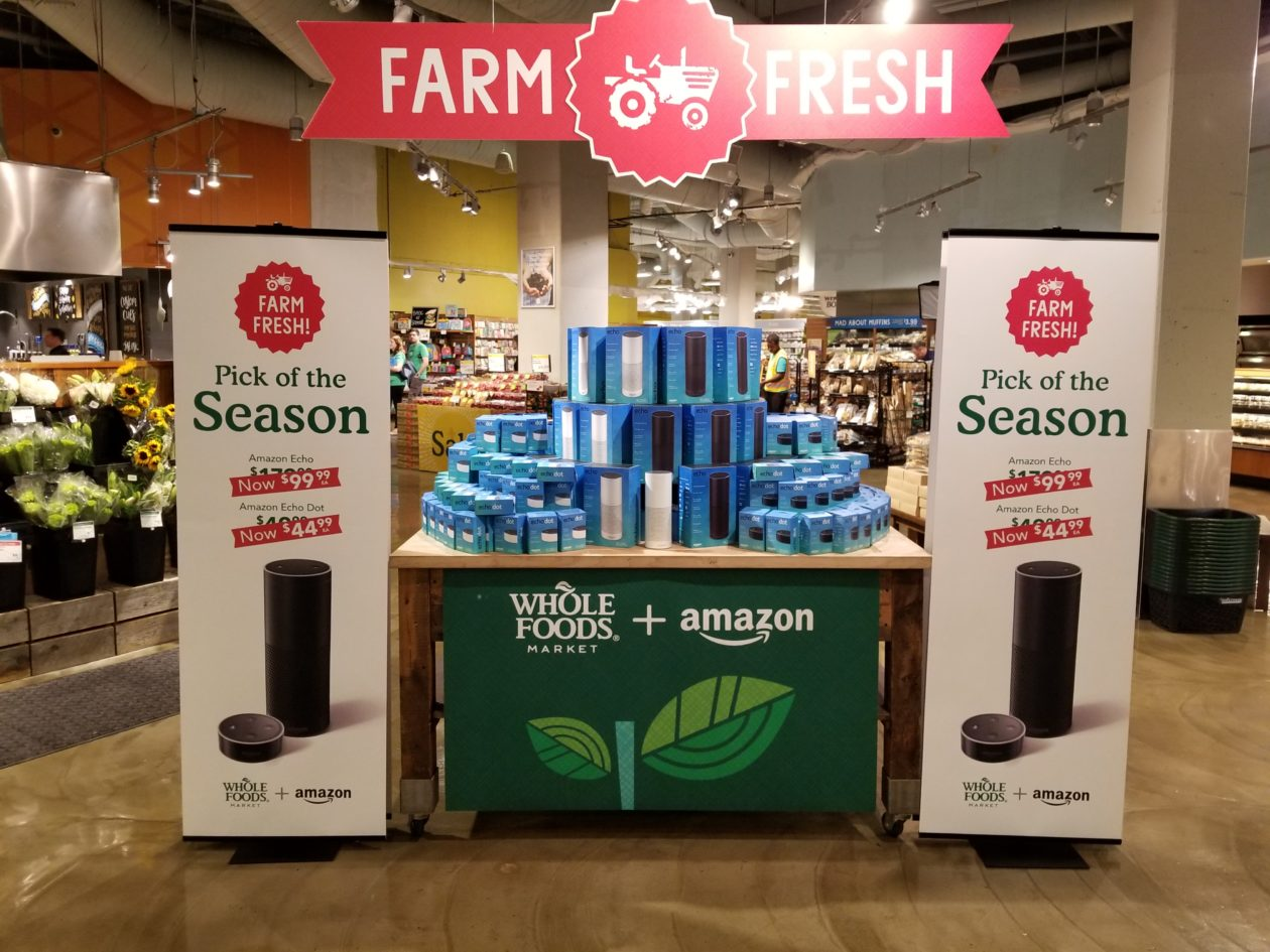 Whole Foods offers Amazon Echo as 'Farm Fresh Pick of the ...