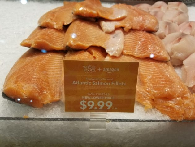 Average Price Reduction At Whole Foods On Monday