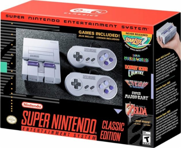 SNES Classic rundown shows the Japanese version's game timeline