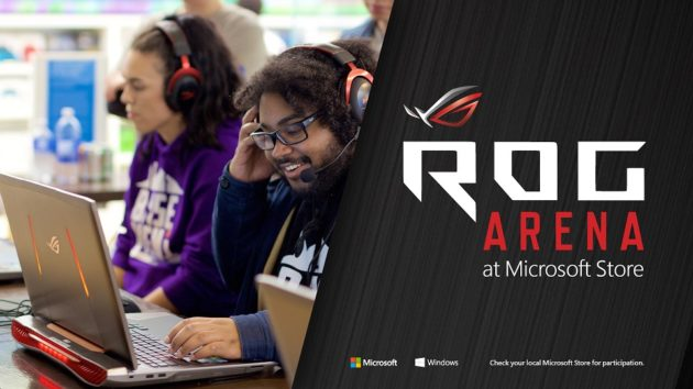 microsoft turns its physical stores into esports gaming arenas with
