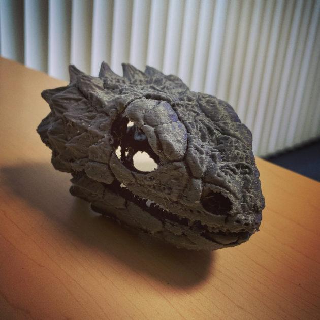 Lizard 3D print