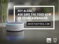 Alexa save food skill