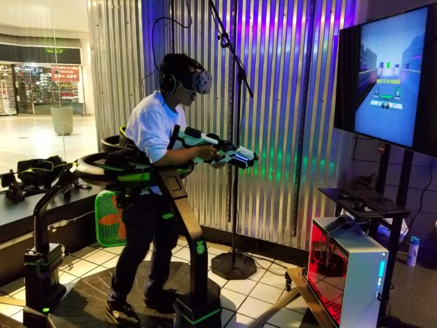 VR gaming store in mall south of Seattle hosting 'Training