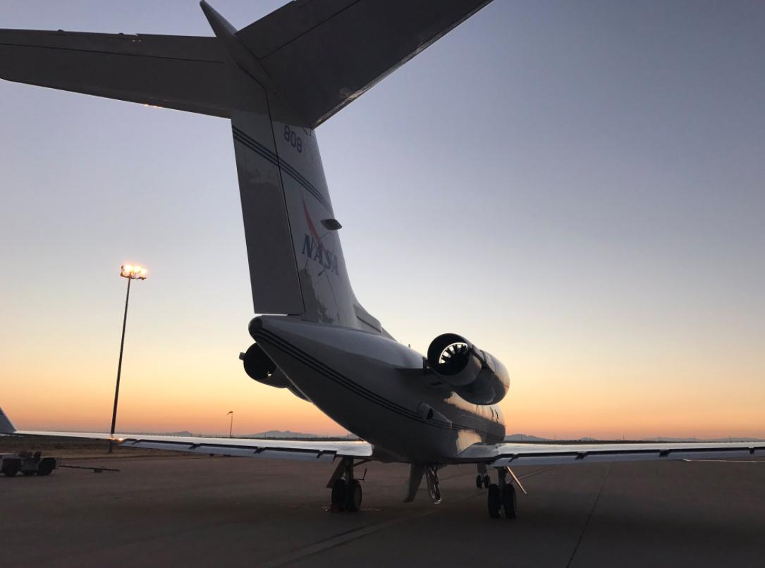 NASA science aircraft