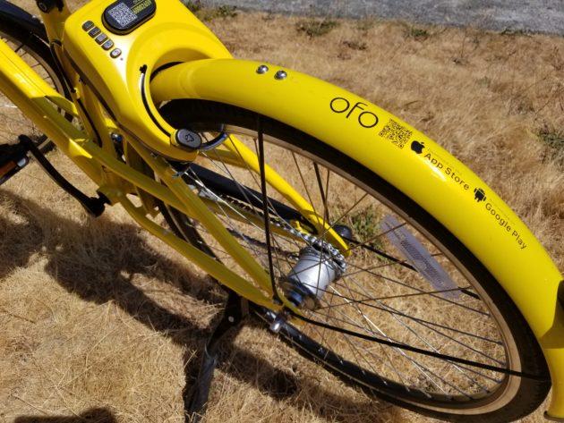 Hello, yellow bikes: Testing Ofo, the third bike-sharing