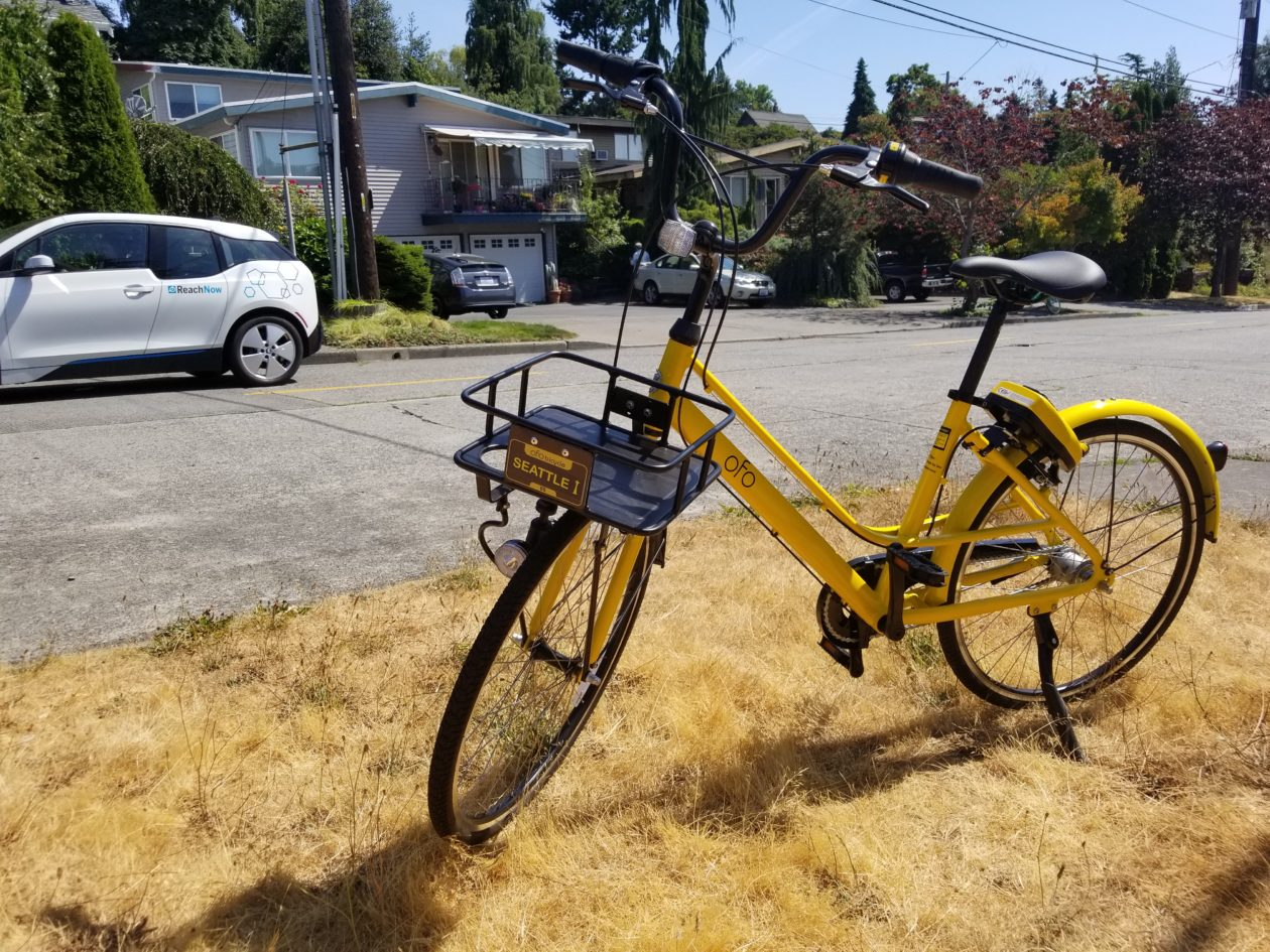 Hello, yellow bikes: Testing Ofo, the third bike-sharing ...