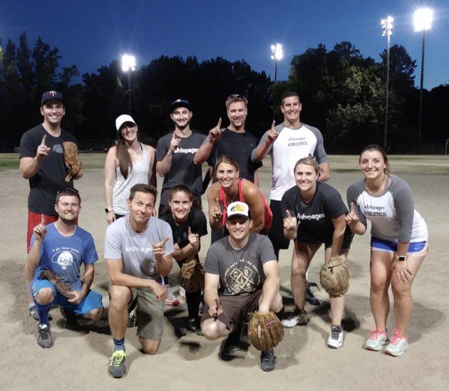 Whitepages softball
