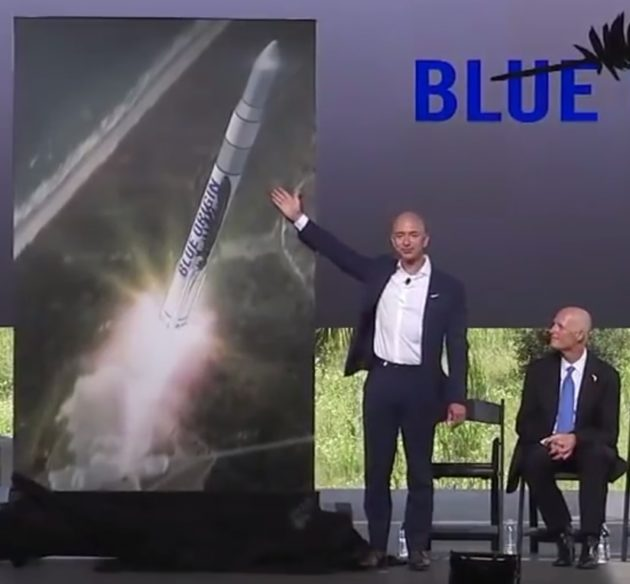 Bezos announcement in Florida
