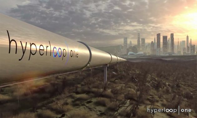 Potential futuristic Hyperloop One connection for Colorado""