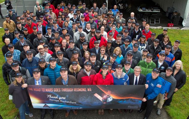 Aerojet Rocketdyne group photo