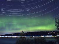 Aurora over Seattle