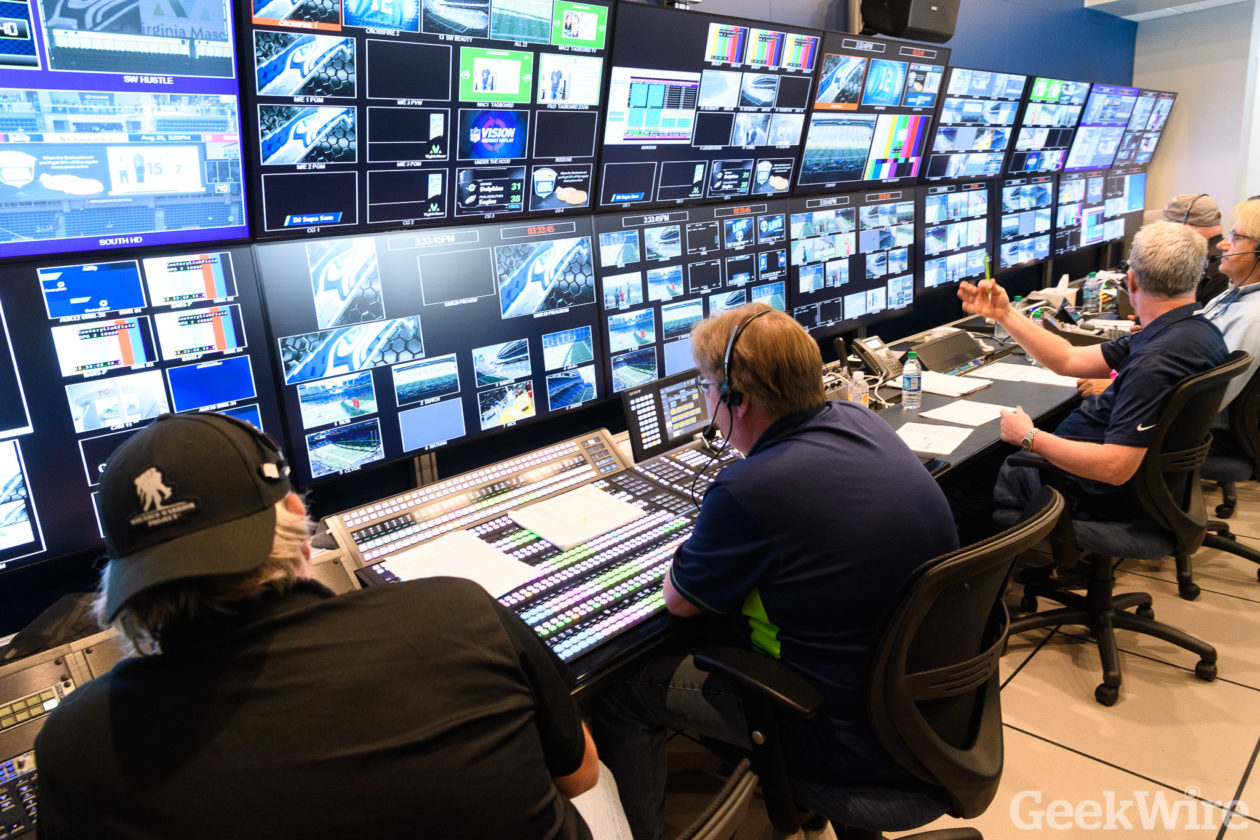 cc890975c53 Seahawks aim to enhance gameday experience for fans with revamped high-tech  video-control room – GeekWire