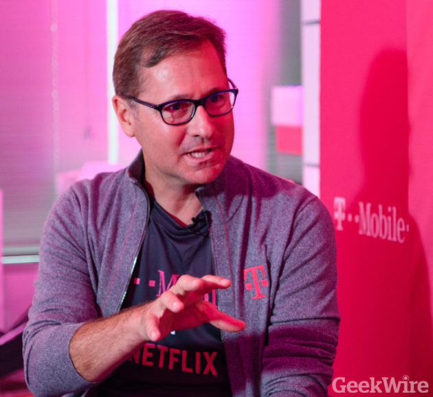 T-Mobile COO Mike Sievert discusses the company's new Netflix partnership
