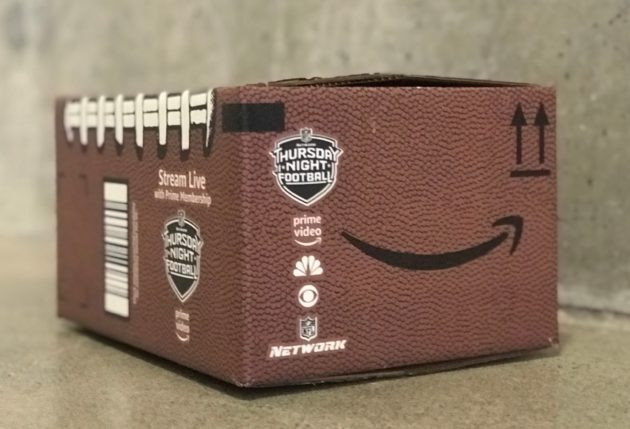 amazon s first nfl live stream overcomes early glitches and long weather delay geekwire. Black Bedroom Furniture Sets. Home Design Ideas