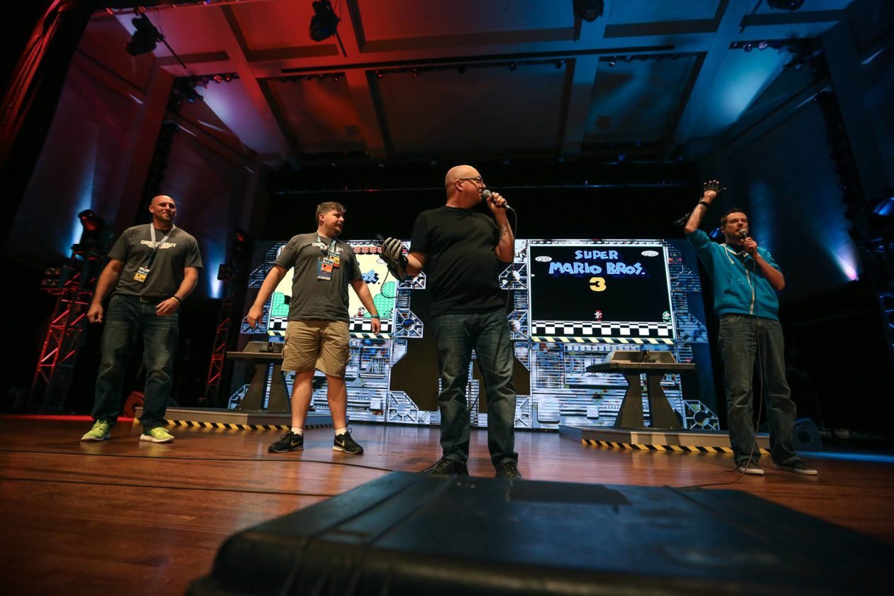 PAX West 2016 Omegathon Finale - Jerry Holkins third from left