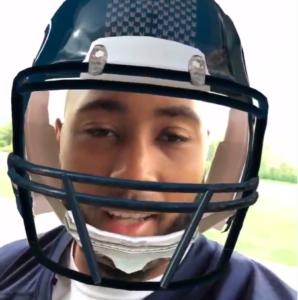 Seahawks Snapchat