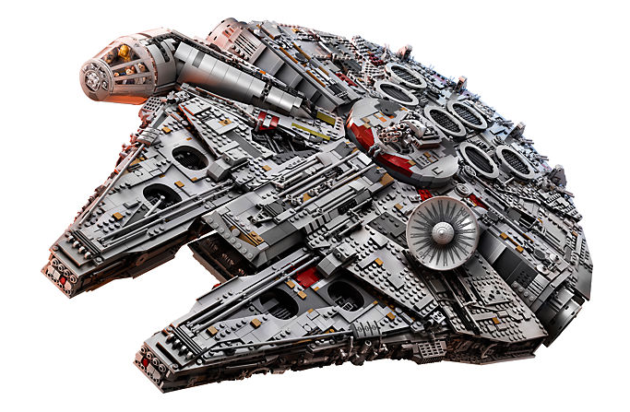 Image result for LEGO 7,500+ Piece Millenium Falcon