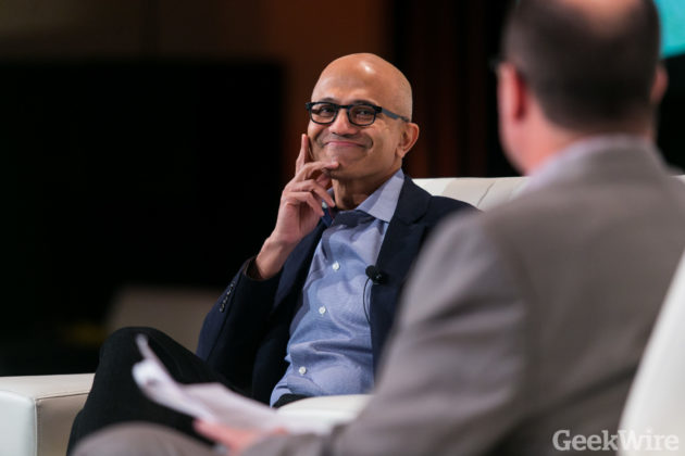 How Microsoft's Satya Nadella got Wall Street to look past its cloud battle with Amazon Web Services