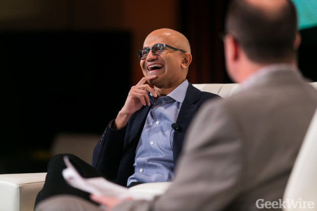 Satya Nadella The Full GeekWire Summit Interview Microsoft S
