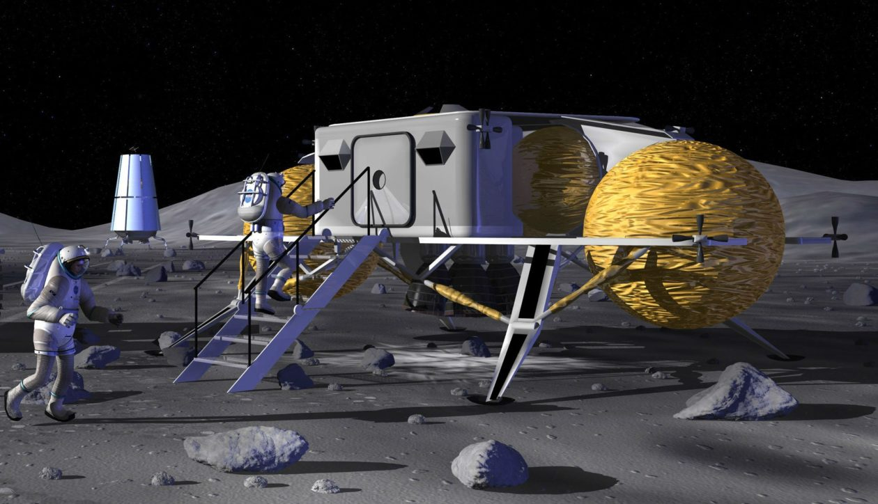 NASA could go back to the future for moon base plans ...