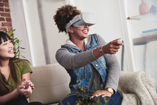 27ac669f0729 The Oculus Go headset is designed to be comfier than a smartphone holder  for virtual reality. (Oculus Photo)