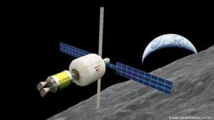 Lunar depot